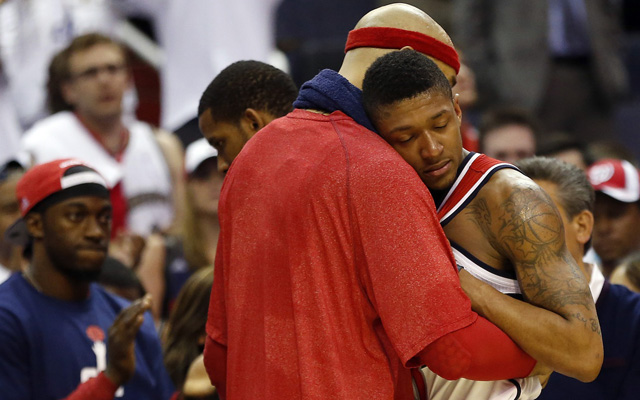 Bradley Beal dreams of the Eastern Conference Finals.   (USATSI)