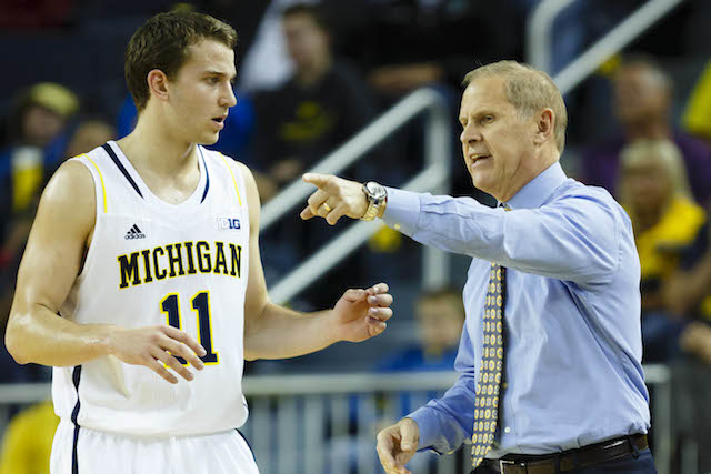 John Beilein and Nik Stauskas give the Wolverines an edge in the Tournament. (USATSI)