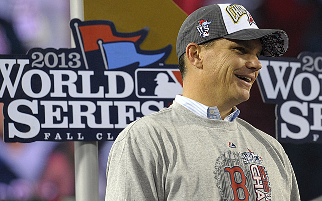 Ben Cherington says Red Sox aren't conceding 2014 season