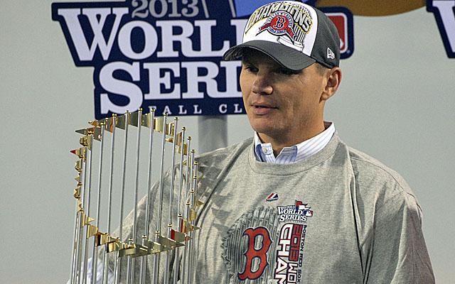 Ben Cherington won the World Series in Boston.