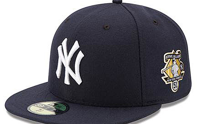 Yankees set to wear Bernie Williams patches on hats Sunday ... 66fb3be212e0