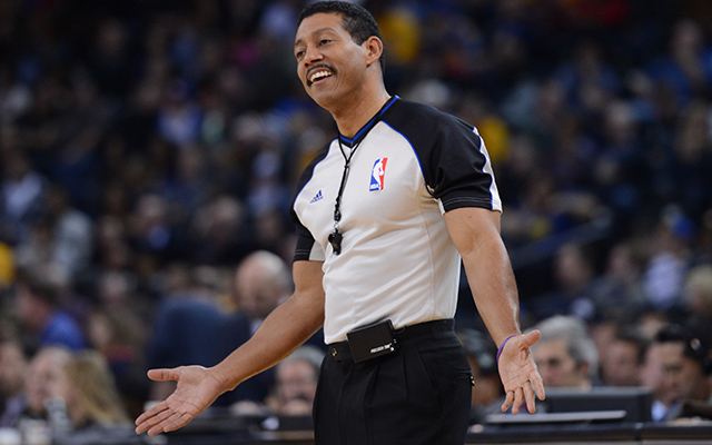 Referee Bill Kennedy came out as publicly gay Monday. (USATSI)