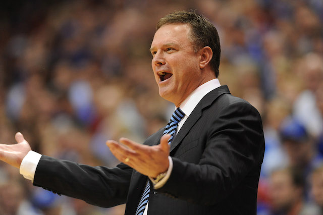 Kansas has now won straight 10 straight Big 12 titles. Yes, Bill Self, we are impressed. (USATSI)