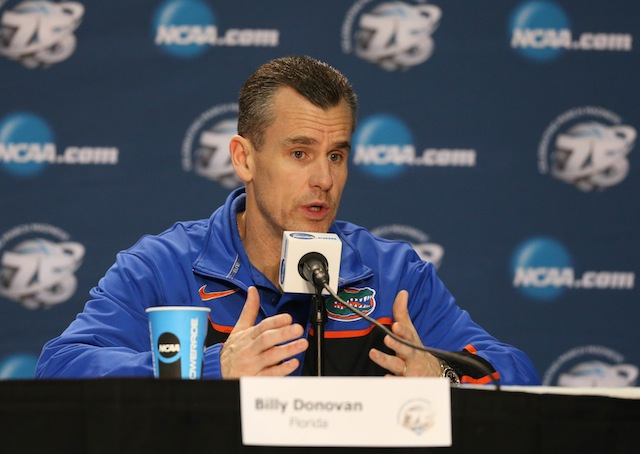 Billy Donovan and Florida had the highest rated strength of schedule among SEC teams last year. (USATSI)