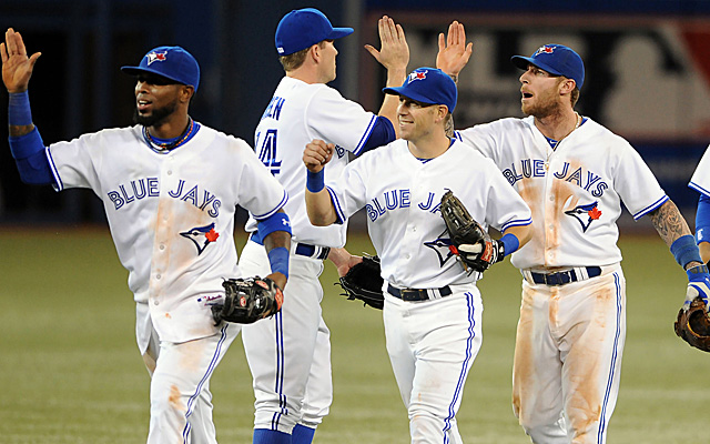 The Blue Jays have opened up a two-game lead in the AL East.