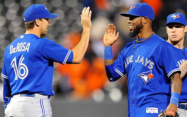 The Blue Jays won Tuesday in a record-setting game.