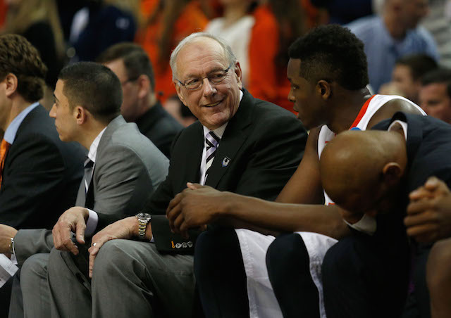 Jim Boeheim and Syracuse already have four top-100 commitments for the class of 2015. (USATSI)
