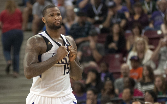 DeMarcus Cousins is suspended for the last game of the season.   (USATSI)