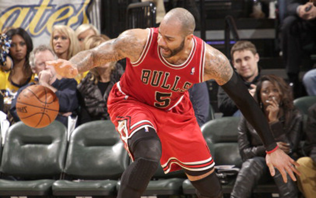 Could the Bulls amnesty Carlos Boozer?  (USATSI)