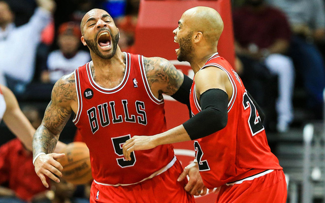 Carlos Boozer isn't thrilled with his recent minutes. (USATSI)
