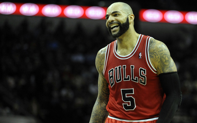Carlos Boozer says he wants more time in the 4th. (USATSI)