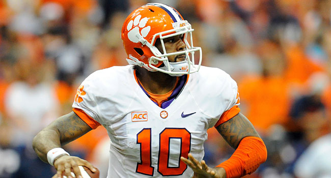 Tajh Boyd has 88 career touchdown passes at Clemson. (USATSI)