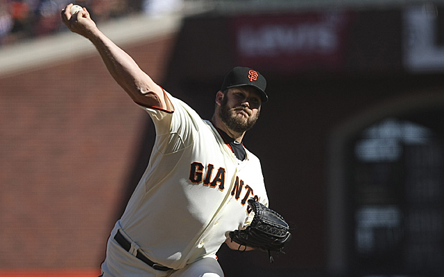 Brad Penny was with the Giants last time he pitched in the majors.
