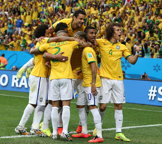 Brazil is still the favorite to win the World Cup. (Getty Images)