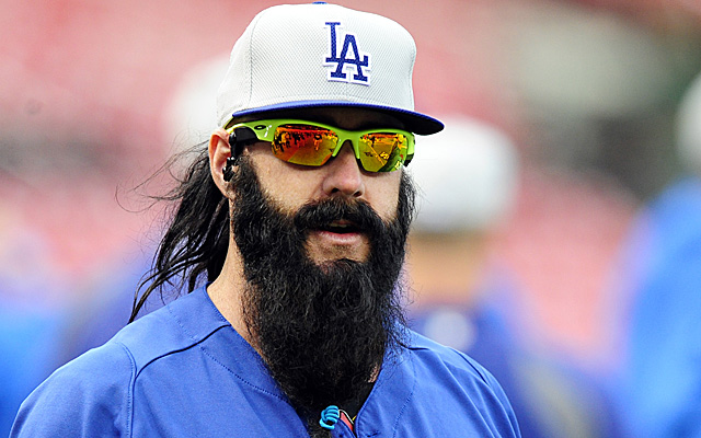 Brian Wilson could be returning to the Dodgers as a setup man.