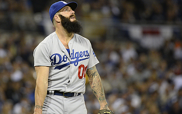 Brian Wilson is already headed to the disabled list.