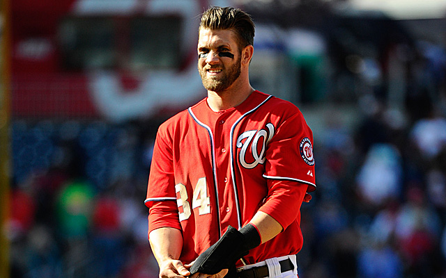 We won't be seeing Bryce Harper again until sometime in July.