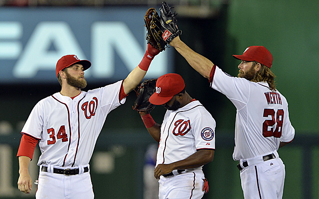 Do any Nationals veterans resent Bryce Harper?