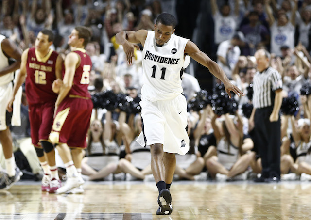 Bryce Cotton scored 28 points to lead Providence to an overtime win over Boston College. (USATSI)