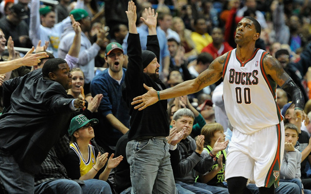 Bucks fans can celebrate their team staying for the foreseeable future.  (USATSI)