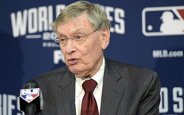 Bud Selig has to be feeling pretty well right now.