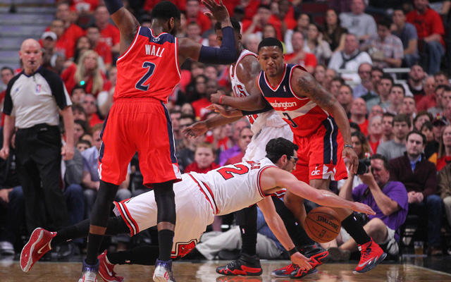 The Bulls' offense was left scrambling in Game 1. (USATSI)