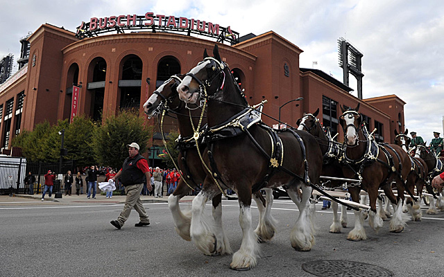 St. Louis' Busch Stadium has already housed two World Series champions.