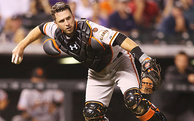 The best catcher in baseball.