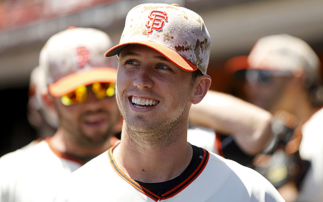 Buster Posey appears set to miss his second straight game.