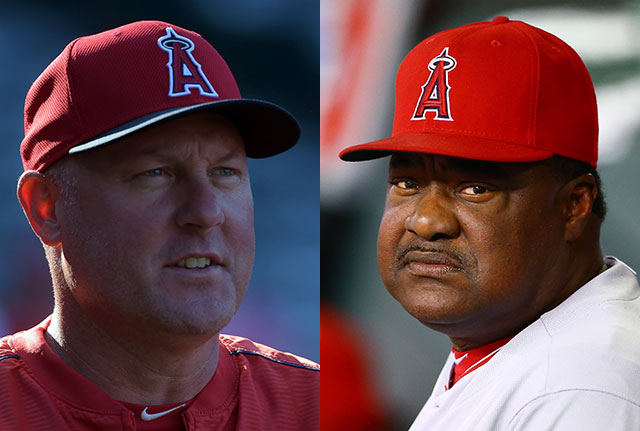 Angels fire pitching coach Mike Butcher and hitting coach Don ...