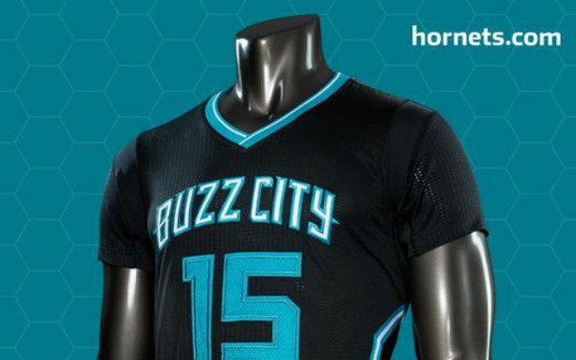 the latest 2e2df f06ad LOOK: Charlotte Hornets now have sleeved 'Buzz City' jerseys ...