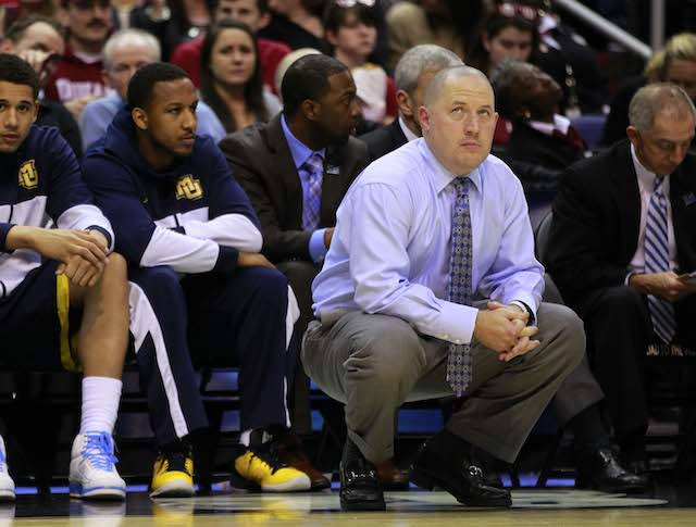 If Rick Barnes steps down at Texas, would Marquette's Buzz Williams make the jump to the Longhorns? (USATSI)