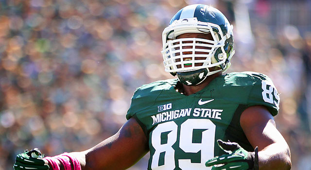 Shilique Calhoun is primed for another big season at Michigan State. (USATSI)
