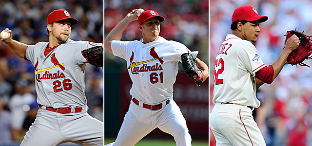Three rookie relievers helped the Cardinals to a key win in Game 4 of the NLCS. (USATSI)