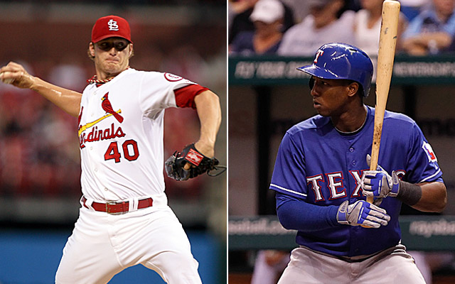 Could Shelby Miller and Jurickson Profar be involved in a trade?