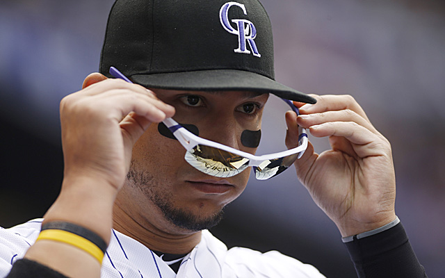 A bruised finger ended Cargo's night Thursday, but he should be back soon.