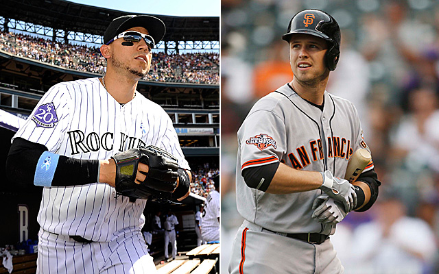 Think Carlos Gonzalez and Buster Posey made our NL West All-Star team? It's a good bet.
