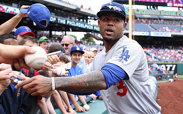Carl Crawford is much happier in Los Angles.
