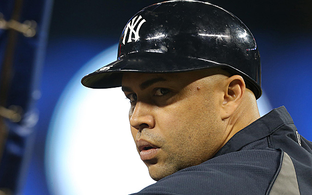 Carlos Beltran was on the wrong end of some bad luck Wednesday night.