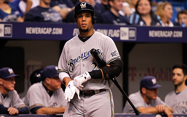 Carlos Gomez is dealing with some soreness in his wrist.