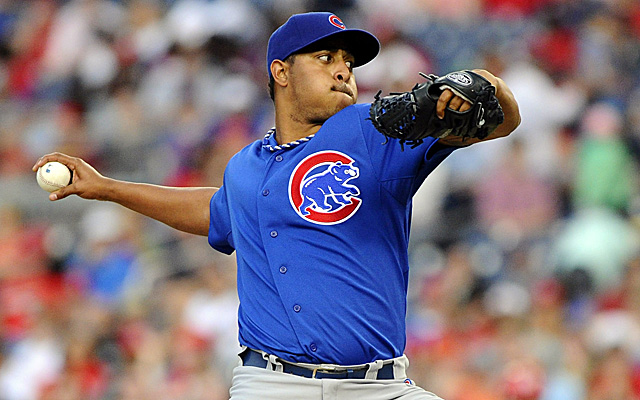 File this one away, because we may not see Carlos Marmol in action for a while.
