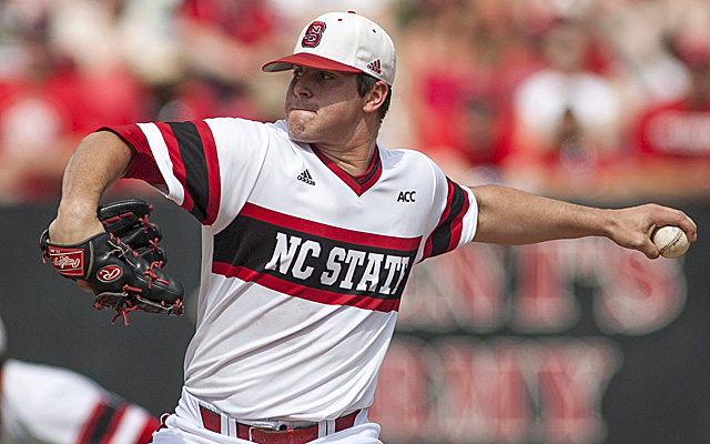 Carlos Rodon is favored to be the top overall pick in the 2014 MLB draft.