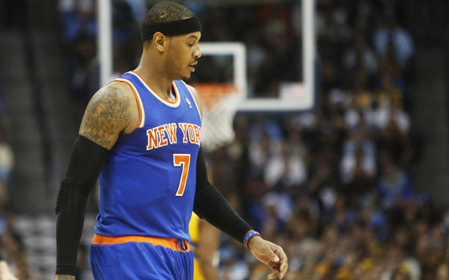 Melo says he hasn't decided whether to walk or not.  (USATSI)
