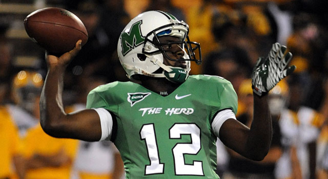 Rakeem Cato threw 39 touchdowns for Marshall, which finished 10-4 last season. (USATSI)