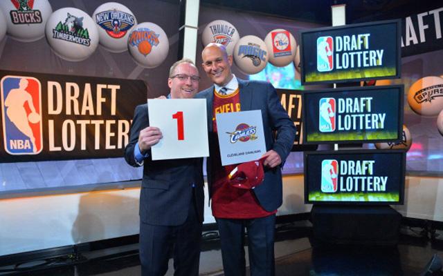 The Cavaliers won the lottery. Again. (USATSI)