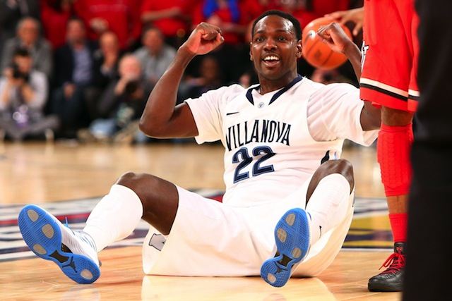 The 6-7 Pinkston led Villanova in scoring last season, and after a health scare, is good to go again. (USATSI)