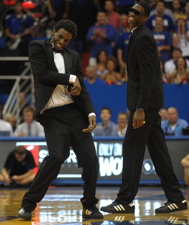 Andrew Wiggins and Joel Embiid will be huge for Kansas and college hoops this year. (USATSI)