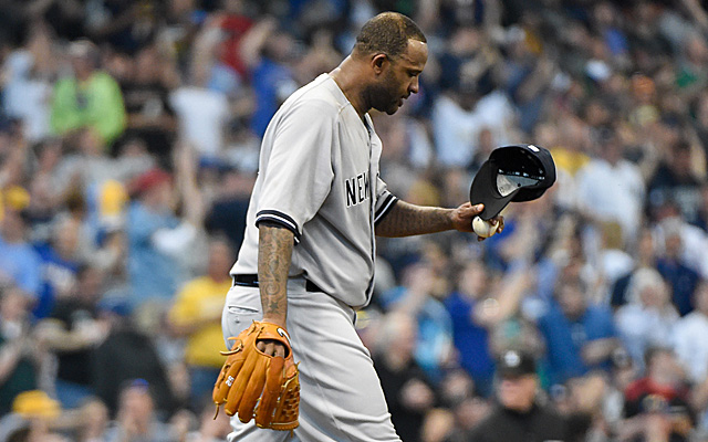 CC Sabathia is having a rough season that now includes knee inflammation.