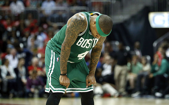 Boston has been left frustrated through two games vs. the Hawks. (USATSI)