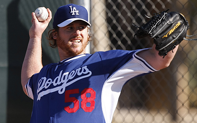 Chad Billingsley had to be shut down from a bullpen session.